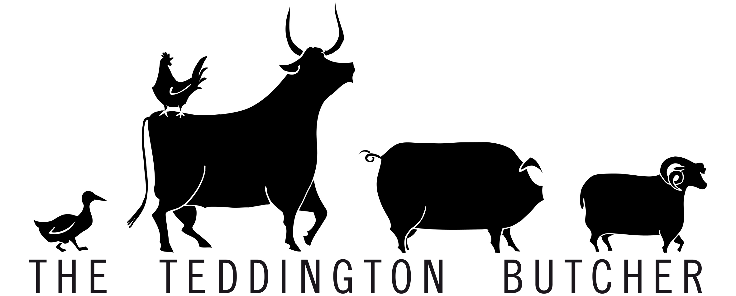The Teddington Butcher Logo and re-branding project