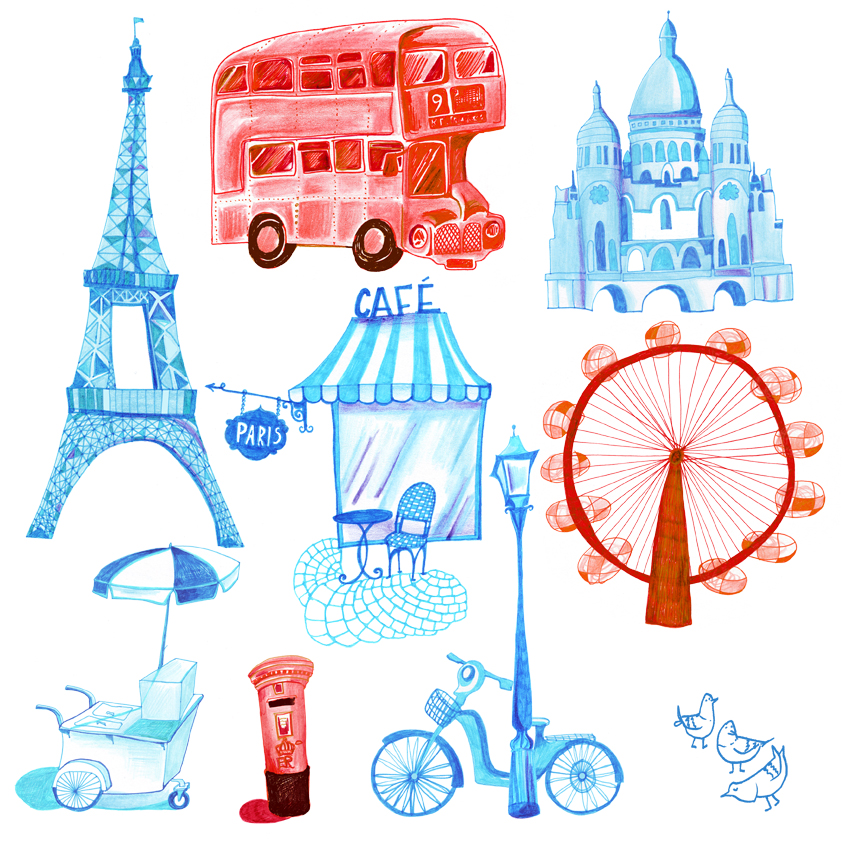 London & Paris