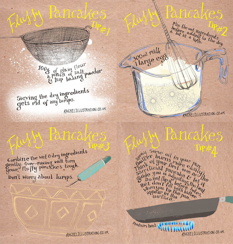 Pancake making tips