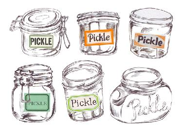 Jars - For Pickle cafe
